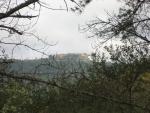 castillo desde el sendero