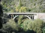 puente sobre el rio guadiaro