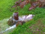 Fuente de La Jurdana en el camino del mismo nombre